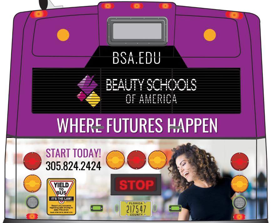 Beauty Schools of America Outdoor Banner